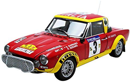 Sunstar - 4952 - Miniatura veicolo - modello per la scala - Fiat 124 Abarth - East African Safari Rally 1974 - Scala 1/18