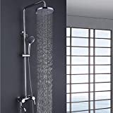 sdkky doccia, grosse dritte rame raffinato qualità Shower Set