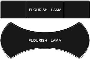 Flourish Lama Her Yere Yapışan Çok Amaçlı Oto Araç İçi Telefon Tablet Eşya Yapışkanlı Yeni Nesil Tutucu Nano Jel Ped 2li...