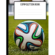 Soccer College Ruled Composition Book