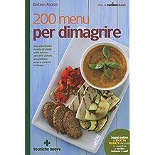 200 menu per dimagrire