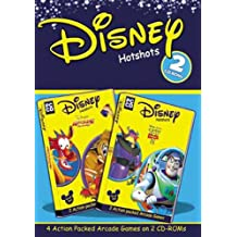 Disney Hotshots: (Toy Story 2: Cone Chaos/Toy Shelf Showdown,  Arcade Frenzy: Mushoot/Rooftop Ruckus)