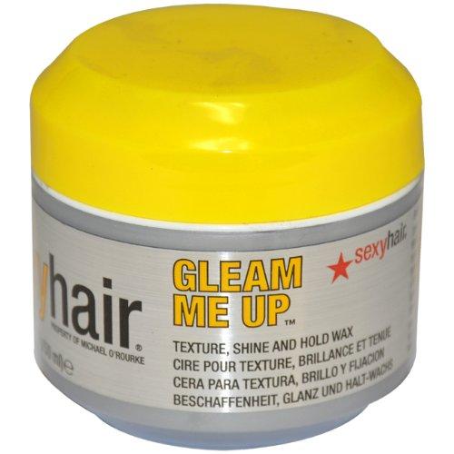 Sexy Hair - Soin Du Cheveu - Short Gleam Me Up Texture Wax - Coiffure 50ml