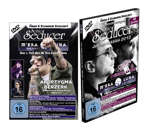 M'Era Luna 2013 Der Film, Teil 1+2 (über 10 Stunden Spielzeit) + Sonic Seducer 12-2013 + Sonic Seducer Jahresrückblick 2013, Bands: Depeche Mode, Saltatio Mortis, Placebo, Blutengel u.v.m. [2 DVDs]