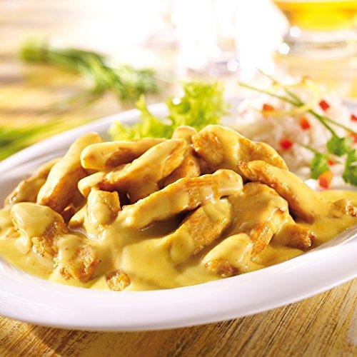 Preisvergleich Produktbild Besser Hähnchen Geschnetzeltes in Curryrahmsauce; 2 x 300 g