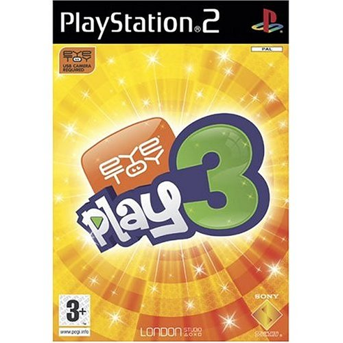 Eye Toy Play 3 - Platinum