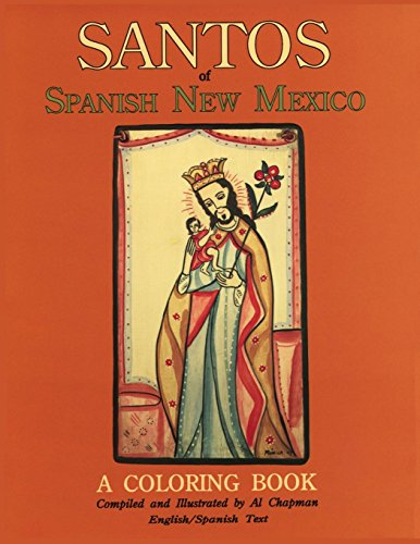 Santos of Spanish New Mexico, A Coloring Book