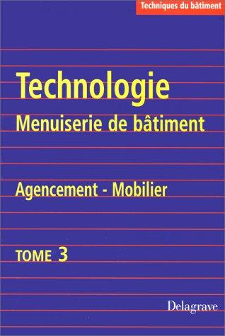 Technologie menuiserie de bâtiment, tome 3. Agencement du mobilier par Eulacia, Heurtematte