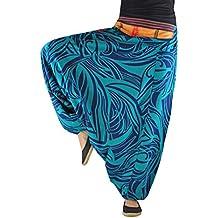 Pantalones bombachos virblatt hombre y mujer con estampados y tejidos  tradicionales talla única S - L 4a5b1814570