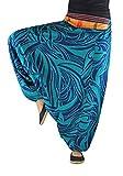 Pantalones bombachos virblatt hombre y mujer con estampados y tejidos tradicionales talla única S -...