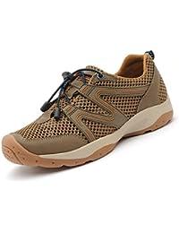 YEEOGF Zapatillas De Deporte Para Hombre Zapatillas De Deporte De Malla Zapatillas De Deporte Casual Zapatillas