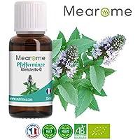 Pfefferminzöl BIO ätherisches Öl 100% naturrein gegen Kopfschmerzen + Migräne, Duftöl, Aroma, für Diffuser, Aromatherapie preisvergleich bei billige-tabletten.eu