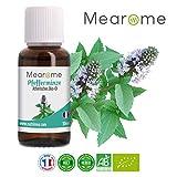 : Pfefferminzöl BIO ätherisches Öl 100% Naturrein zum Verzehr + gegen Kopfschmerzen + Migräne - Zertifiziertes BIO-Produkt - Duft-Öl Pfefferminze 30ml, Aroma für Diffuser, Aromatherapie