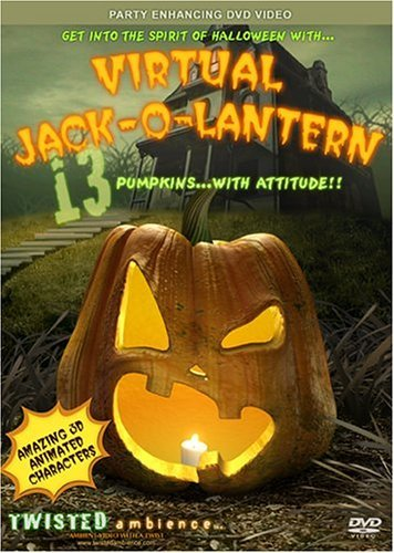 Virtual Jack-O-Lantern: Halloween Video Decoration