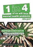 Caledonia Zeichen 57099überraschend gemeinsamen ist es nicht? psychische Gesundheit Poster