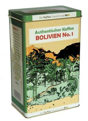 Authentischer Kaffee Bolivien No.1, 500 g Schmuck-Dose