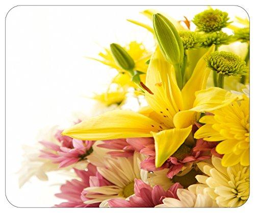 Mousepad bedruckt mit Blumengesteck