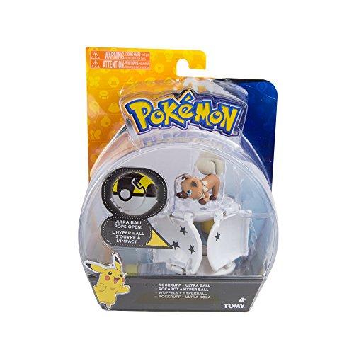 Pokémon - Throw N POP SDO RockRuff And Ultra Ball (Bizak 30698873)