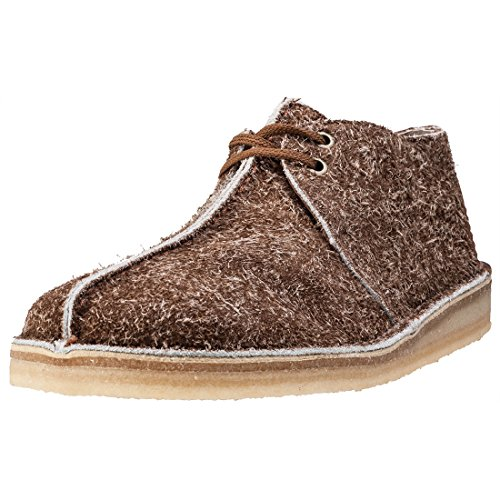 clarks-originals-desert-trek-hommes-chaussures-cola-suede-11-uk