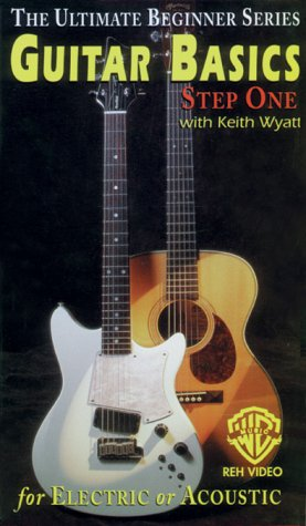 Ultimate Beginner Series: Guitar Basics Step 1 [VHS] [Import USA]