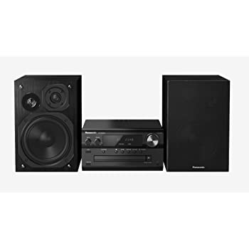 Panasonic SC-PMX82EG-K Sistema Micro Audio Alta Risoluzione, 120 W, Speaker 3 Vie, Lettore CD, Bluetooth+Re-Master, Docking iPhone5/iPod, USB DAC, DAB/DAB+, AM/FM RDS, LincsD-Amp, Airplay, Nero
