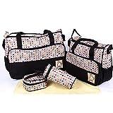 Baby Station 5pcs/set Baby Diaper Bag Na...