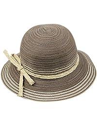 TININNA Vintage Stile Etnico Grande Bordo Largo all aperto Cappello da Sole  Estivo Berretto di Spiaggia Cappello… f87f2d83ed83