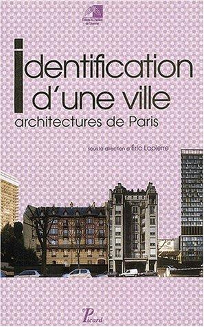 Identification d'une ville : Architecture de Paris