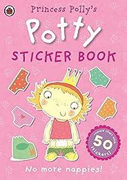 Princess Polly's Potty sticker activity