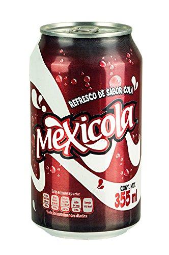 MEXICOLA- Limonade aus México mit Cola-Geschmack, Dose 355ml.