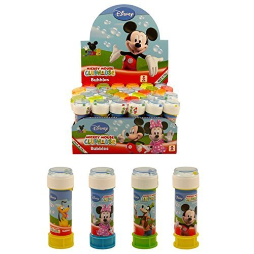 Leg Tub (36 x Mickey Mouse Clubhouse – Puzzle Labyrinth Tubs Bubbles 60 ml – Machen Box)