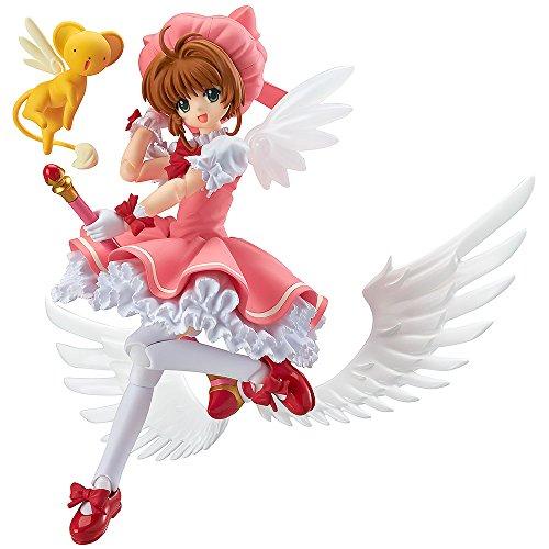 y Card Captor Sakura: Sakura Kinomoto Figma Figur (Sakura Kinomoto Cosplay Kostüme)