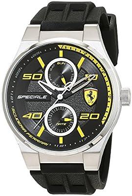 Ferrari 0830355 Speciale - Reloj de pulsera para hombre de Scuderia Ferrari