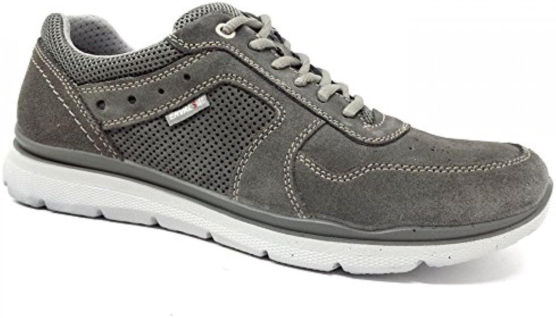 ENVAL SOFT Zapatos de Cordones Para Hombre Gris Grigio Asfalto -