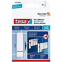 Tesa 77761-00001-00–Klebestreifen für Fliesen und Metall mit einer Haltekraft von 3kg.