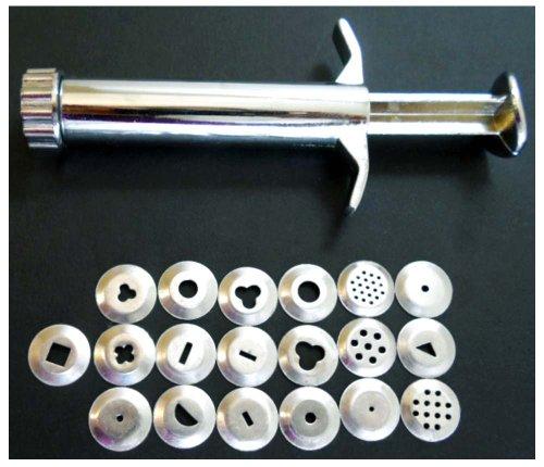 Preisvergleich Produktbild Clay Or Pasta Hand Plunger W/ 20 Shapes