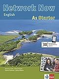 Network Now A1 Starter: Einstiegsband für Anfänger ohne Vorkenntnisse. Student's Book mit 3 Audio-CDs