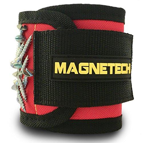 Best, stärksten magnetisch Armband von magnetech, 12starke Magnete für Ihr Schrauben, Bolzen, Nägel und Werkzeuge-perfekte Werkzeug Gadget für Heimwerker, Schreiner, Elektriker, Mechanik & Builders