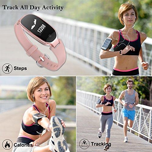 Zoom IMG-2 wowgo fitness tracker donna cardiofrequenzimetri