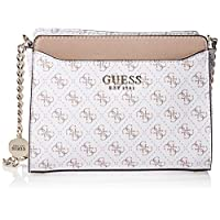 Guess Womens Cross-Body Handbag, White - SG767114