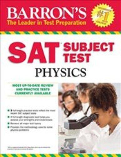 Sat Physics (Barron's Sat Subject Test Physics)