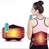 LX&OOSM Cinturón de masaje eléctrico Protrusión lumbar Calefacción y calefacción moxibustión Relief Therapy Massager Cuidado de la salud en el hogar