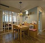 Lustre en laiton antique,plafond lumineux pour une salle de séjour,lustre Art...