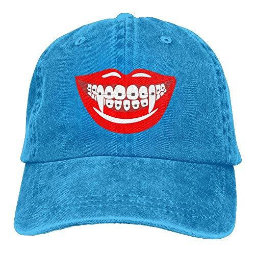 Hoswee Baseballmütze Hüte Kappe Braces Teeth Orthodontist Dentist Funny Halloween Unisex Truck Baseball Cap Adjustable Hat Military Caps (100 Pics Halloween-60)