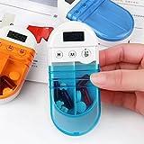 MMRM Elektronische Pill Reminder Medikation Timer Timer-Alarm Set Medizin Pillen Fall Veranstalter