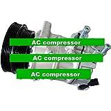 GOWE AC Compresor para Sanden pxe16coche Auto AC Compresor para coche VW Beetle Golf Jetta conejo 2.5L GTI L 2005–20121K0820808C 1K0820808e R C E G K