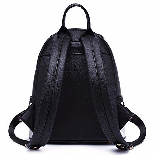 damen - rucksack, freizeit, schule, wind reisen, schule schoolbag,schwarz schwarz