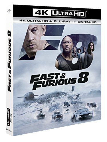 Bild von Fast and furious 8 4k ultra hd [Blu-ray] [FR Import]