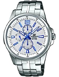 12ac25c0e999 Casio EF-343D-7AVEF - Reloj analógico de cuarzo para hombre con correa de