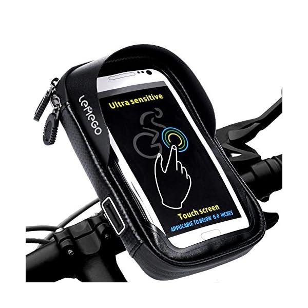 Support Vlo Tlphone Etanche LEMEGO Smartphone Universel